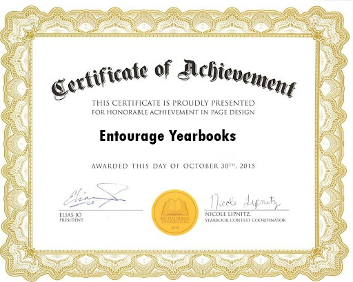 Entourage's 7th Annual National Yearbook Competition Included Over 800 Participants